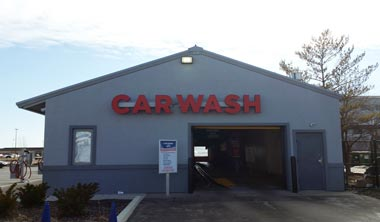Car Wash-Channel Letters