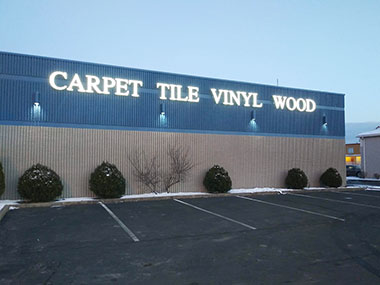 Carpet Tile Vinyl Wood
