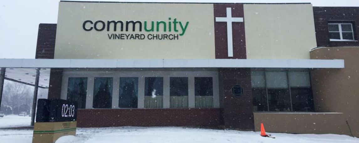 Community Vineyard Church - Akers Signs