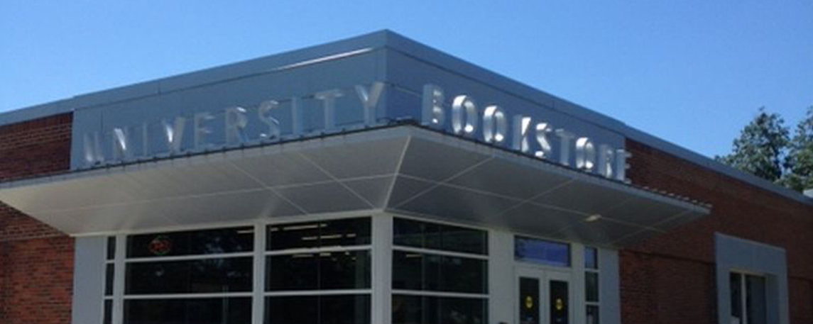Kent State University Bookstore - Akers Signs